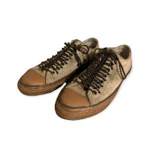 Converse x John Varvatos Collab Distressed Tan Suede Sneakers - Men's Size 9